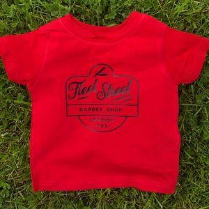 Fleet Street Barber Shop Graphic T-shirt Toddler